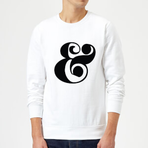 Candlelight & Symbol Sweatshirt - White