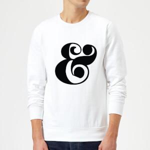 Candlelight & Symbol Sweatshirt - White