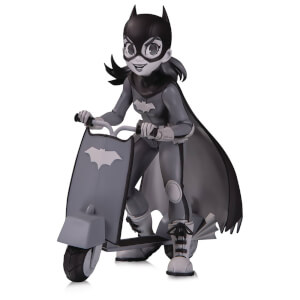 Figurine Batgirl B&W en PVC par Zullo – DC Artists Alley