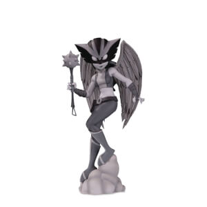 DC Artists Alley Hawkgirl B&w By Zullo PVC Figure