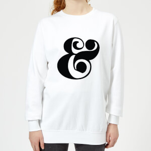 Candlelight & Symbol Women's Sweatshirt - White