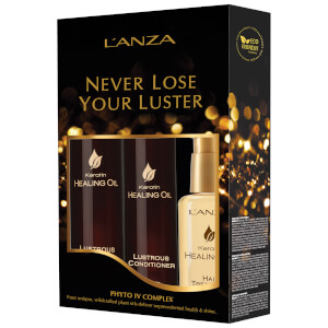 L'Anza Keratin Healing Oil Holiday Trio