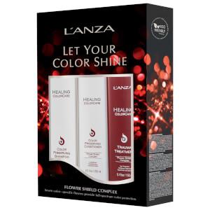 L'Anza Healing ColorCare Holiday Trio (Worth £75.00)