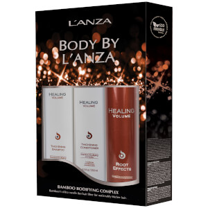 L'Anza Healing Volume Holiday Trio