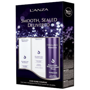 L'Anza Healing Smooth Holiday Trio (Worth £70.00)