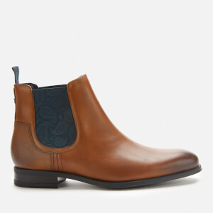 Ted Baker Men's Tradd Leather Chelsea Boots - Tan