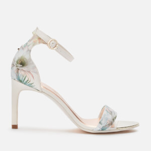 Ted Baker Women's Mwilli Barely There Heeled Sandals - White/Blue