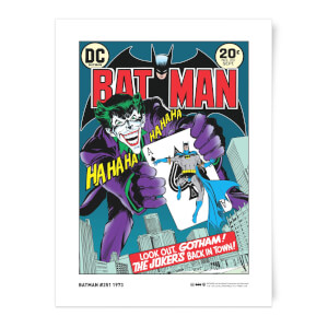 DC Comics The Joker's Five-Way Revenge Giclee Art Print