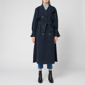 See By Chloé Women's Trench Coat - Ink Navy
