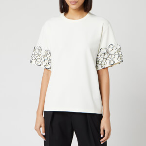 See By Chloé Women's Curle Edge T-Shirt - Iconic Milk