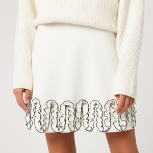 See By Chloé Women's Curle Edge Skirt - Iconic Milk