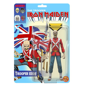 Iron Maiden Trooper Eddie Fig Biz Action Figure
