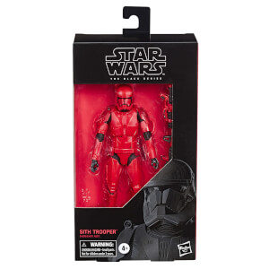 Hasbro Star Wars: The Rise of Skywalker The Black Series Sith Trooper 6 Inch Action Figure