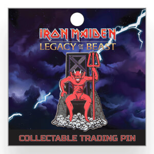 Iron Maiden Legacy of the Beast Lapel Pin - The Beast