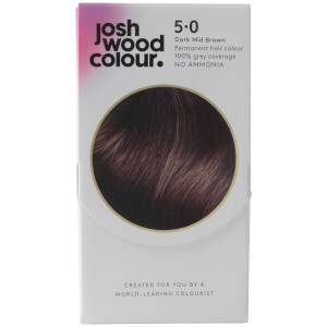 Josh Wood Colour 5 Dark Mid-Brown Colour Kit