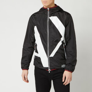 Armani Exchange Men's Large Logo Jacket - Black
