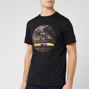 PS Paul Smith Men's Regular Fit Interference T-Shirt - Black