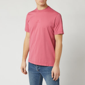 PS Paul Smith Men's Centre Logo T-Shirt - Pink