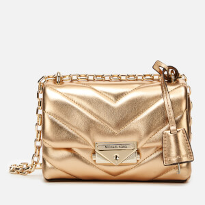 MICHAEL MICHAEL KORS Women's Cece Xs Chain Cross Body Bag - Pale Gold