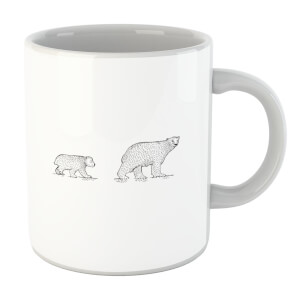 Mum And Cub Polar Bear Mug