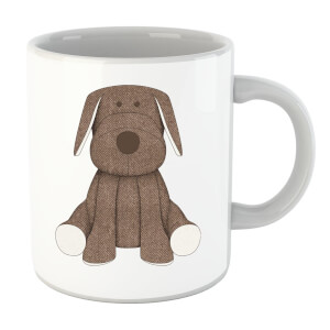 Brown Dog Teddy Mug
