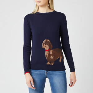 Joules Women's Miranda Crew Neck Jumper - Navy