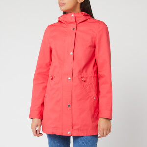 Joules Women's Shoreside Waterproof A Line Coat - Poppy