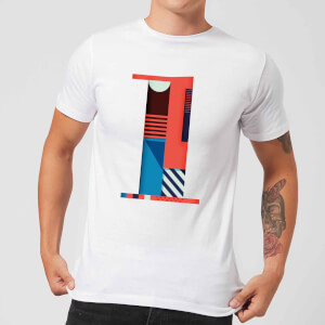 1 Men's T-Shirt - White