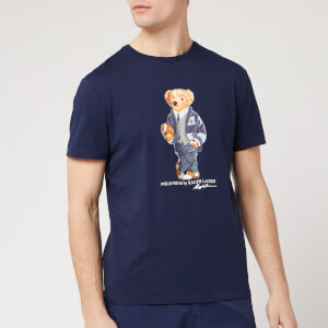 Polo Ralph Lauren Men's Bear Logo T-Shirt - Cruise Navy