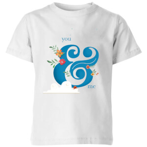 You & Me Kids' T-Shirt - White