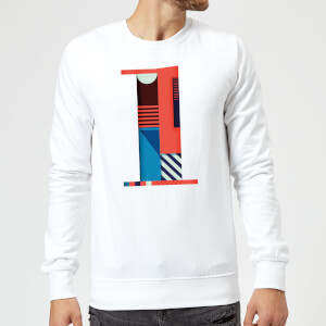 1 Sweatshirt - White