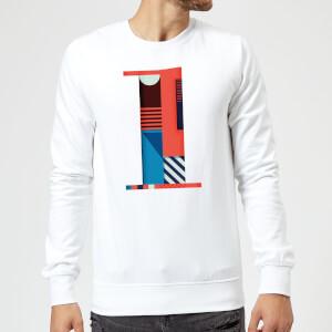 1 Sweatshirt - White