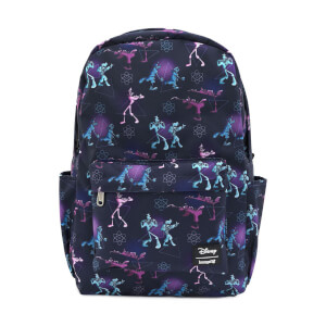 Loungefly Disney A Goofy Movie Powerline Aop Nylon Backpack