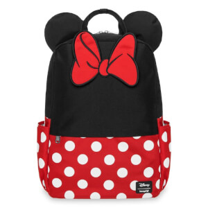 Loungefly Minnie Mouse Cosplay Square Nylon Backpack