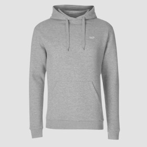 MP Men's Essentials Hoodie - Grey Marl