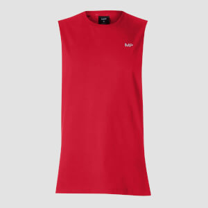 MP Essentials Drop Armhole Tank  - Červený