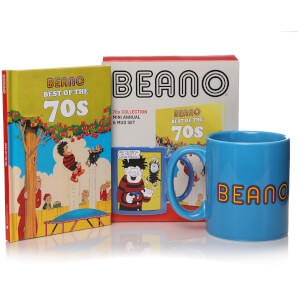 Beano Book and Mug Gift Set - Best of the 70s