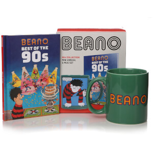 Beano Book and Mug Gift Set - Best of the 90s
