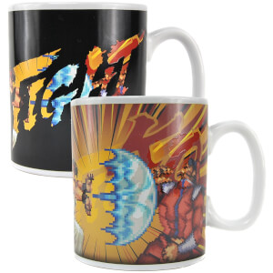 Street Fighter Heat Changing Mug - M Bison