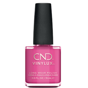 CND Vinylux Hot Pop Pink Nail Varnish 15ml
