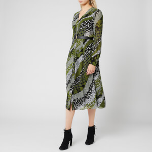 MICHAEL MICHAEL KORS Women's Shirt Dress - Evergreen