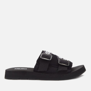 KENZO Men's Papaya Slide Sandals - Black