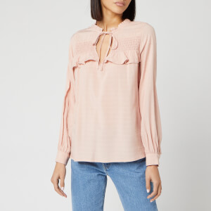Superdry Women's Danika Boho Top - Vintage Blush