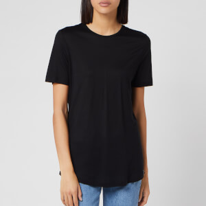 Superdry Women's Edit Tencel Crew Neck T-Shirt - Manor House Black