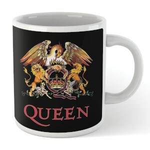 Queen Crest Mug - Black