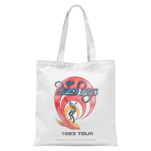 Surfer 83 Tote Bag - White