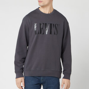 Levi's Men's Relaxed Graphic Sweatshirt - Forged Iron