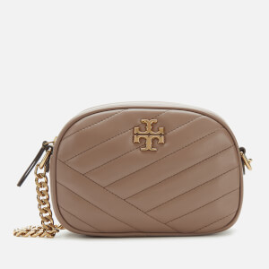 Tory Burch Women's Kira Chevron Small Camera Bag - Classic Taupe