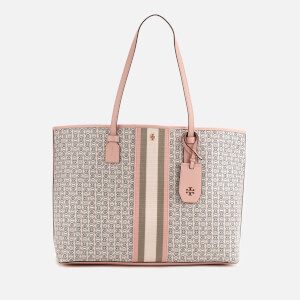 Tory Burch Women's Gemini Link Canvas Tote - Coastal Pink