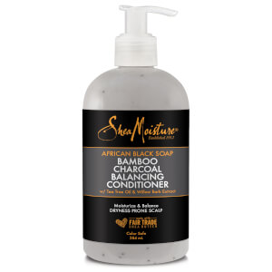 SheaMoisture African Black Soap Bamboo Charcoal Conditioner 384ml - Exclusive